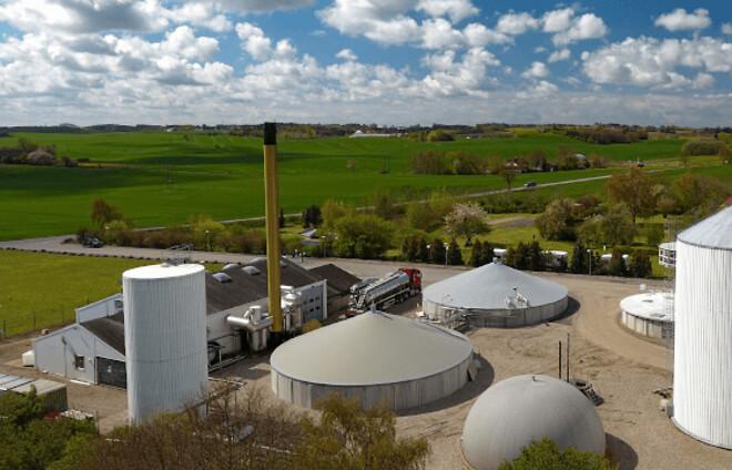 biogas-tanke
