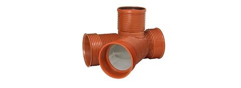 Komplet spildevandssystem med brønde og dæksler - spildevandssystem