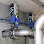 Vandflow til biopulp-anlæg styres af AVK spadeventiler med pneumatiske aktuatorer