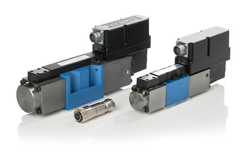Hydrauliske proportionale ventiler - Proportional – retningsventiler, Cetop, håndbetjente ventiler, 12V - 24V - 220V, analog, digital