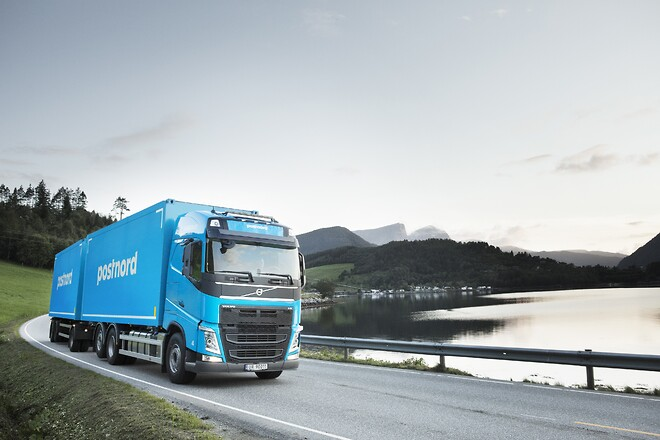 Postnord part full load