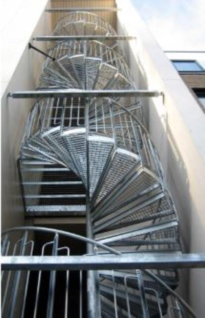 Spiraltrapper/rømningstrapper fra Nisjemetall