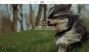 Webdesign for produktionsvirksomheden BibaDesign