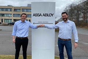 Jesper Christensen og Ricky Stensgaard ASSA ABLOY Entrance Systems