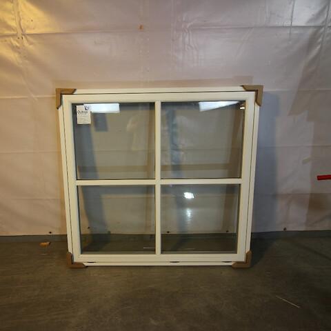 Topstyret vindue, træ/alu, 009492