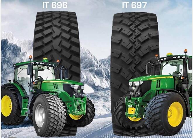 BKT RIDEMAX IT 697 & 697 hos Gripen Wheels