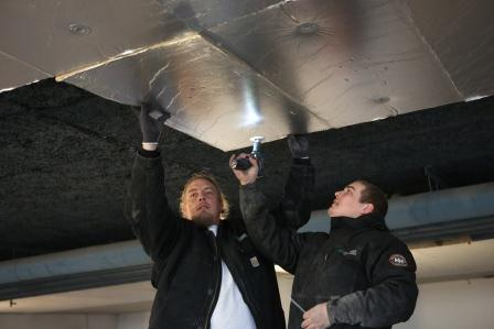Moderigtigt Isolering af loft i p-kælder gav varme fødder - Building Supply DK ZH29