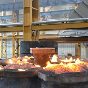 DISAB vakuumsystem klarar av att hantera material som är upp till 600 grader varmt.