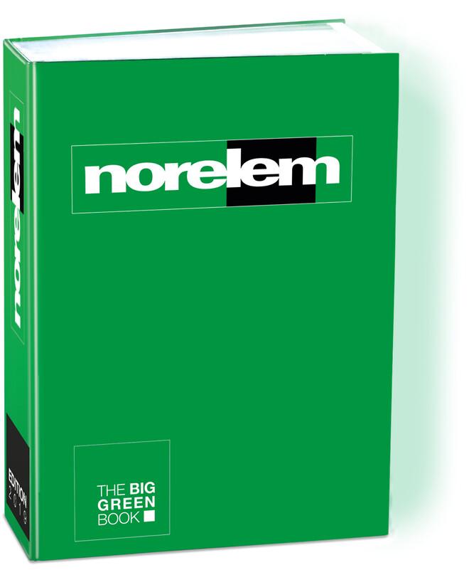 norelem katalog THE BIG GREEN BOOK
