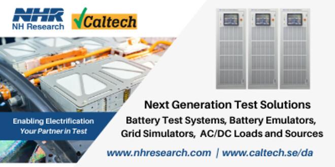 NHR - Ny leverandør af power elektroniske testsystemer og instrumenter