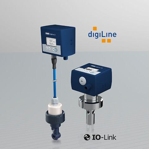 Digital sensorteknik för konduktivitetsmätning- -nu med IO-Link! JUMO - digiline, sensor,digital,konduktivitetsmätning, IO-link