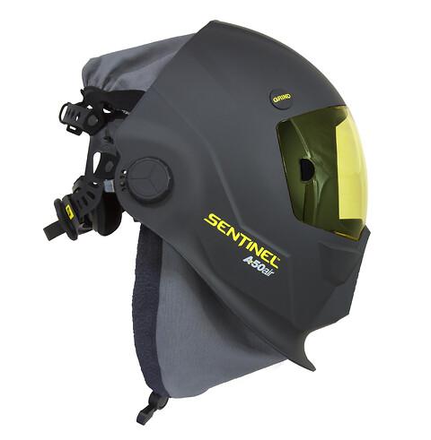 Revolusjonerende høypresterende automatisk sveisemaske forberedt for friskluft,- SENTINEL™ A50 Air