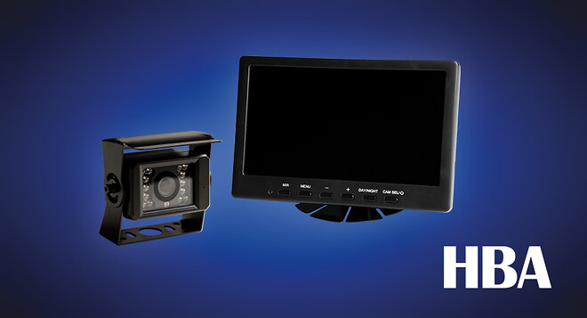 "Back-TV system HD 7"""