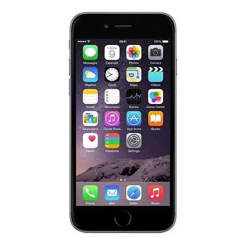 Apple iPhone 6 64GB (Space Gray) - Grade A - mobiltelefon