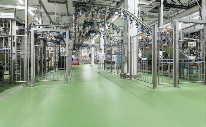 Ucrete CS - slitstarka och färgäkta golv till livsmedelsindustrin