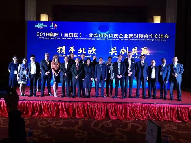 3nine på roadshow i Kina