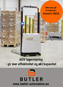 Butler Automation - lagerstyring med AGV