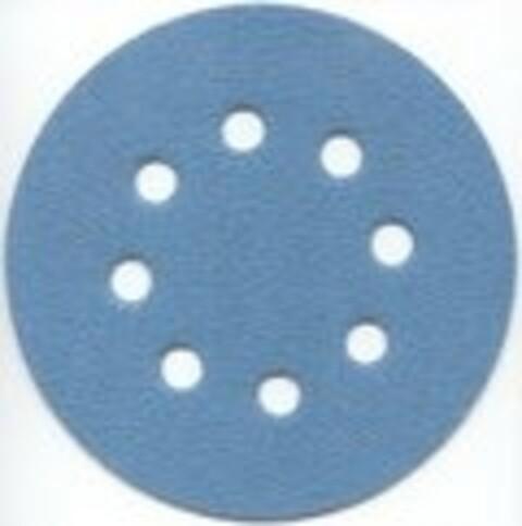 Sliberondel m/velcro K2000 Ø125 8 huller