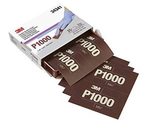 3M™ Hookit™ 270J, Fleksible Håndslibeark P1000 - håndslibeark slibeark hånslibeark ark fleksibel 3m