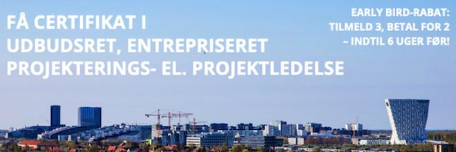Projekteringsledelse, Projektledelse, Byggeledelse, Entrepriseret, Udbudsret - Nohrcon