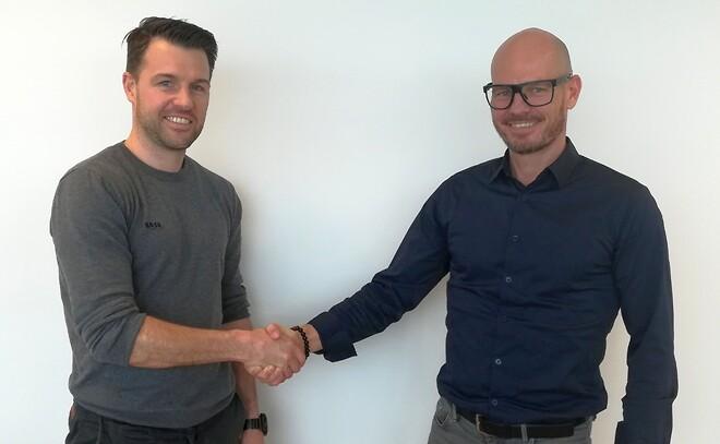 Klaus Rønslev og Rasmus Mørk Heiberg, BASE Erhverv