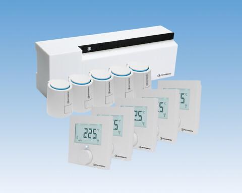 Pettinaroli PS-pakkeløsning; COMFORT IP gulvvarmesystem - Med PS-pakken fra Pettinaroli får du det intelligente COMFORT IP gulvvarmesystemet samlet i én pakke på ét VVS-nummer