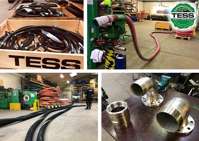 Hydraulic Hose | Composite Hose | Bunker Hose | TESS Denmark