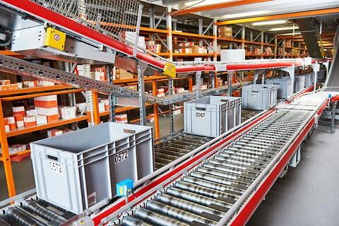 Komplette løsninger inden for intern logistik