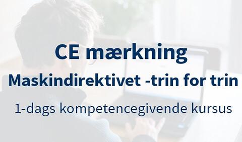 CE-Mærkning – Maskindirektivet - Maskindirektivet – CE-mærkning