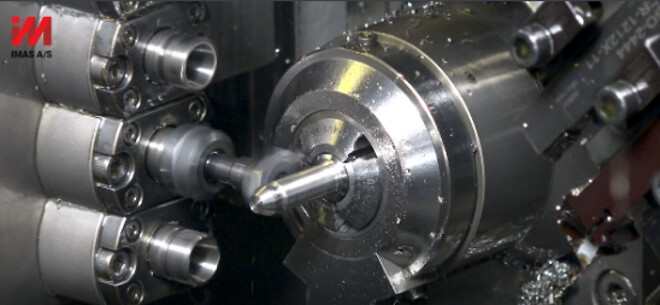 IMAS producerer emner i rustfrit stål.