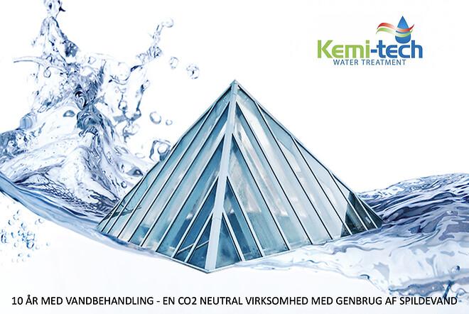 Genbrug af spildevand.\nEn CO2 neutral virksomhed