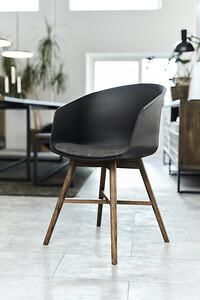 røget eg, stol, spisebord, spisestuestol, moderne, koncept, interstil, actona company, mix og match, favorit, skab din egen