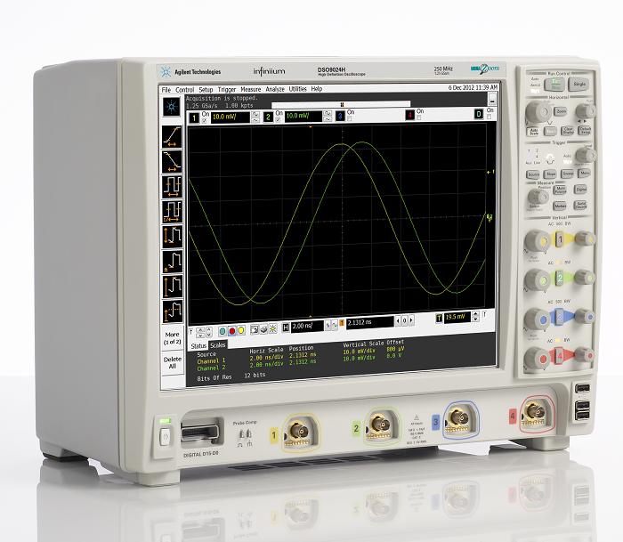 New 12bit Oscilloscopes from Agilent - Electronic Supply DK