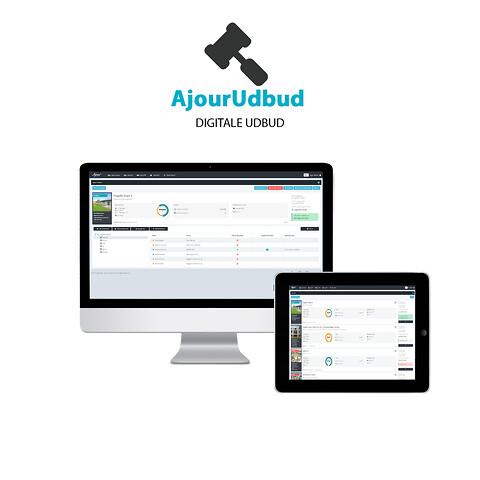 AjourUdbud - Oprettelse og styring af digitale udbud og afholdelse af licitation