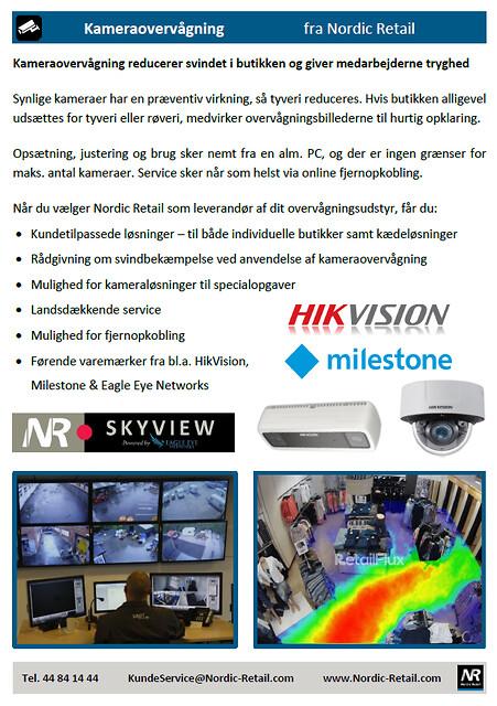Nordic Retail - Kameraovervågning