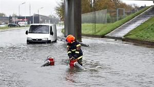 Grindex pumper i aktion ved oversvømmelse