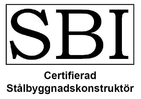 Certifiering av Stålbyggnadskonstruktörer 2020 - Märket som certifierade konstruktörer får använda.