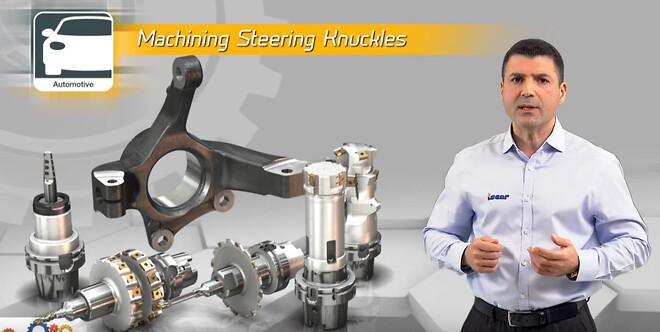 ISCAR steering knuckle