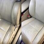 skinnsäten bilstol