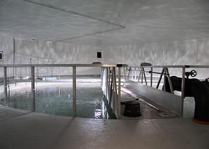 Nybyg for SMOLTEN fiskeindustri i Norge. Her leverede S.E. Hovedgaard A/S løsninger inden for vægbeklædning, loft systemer samt dørløsninger