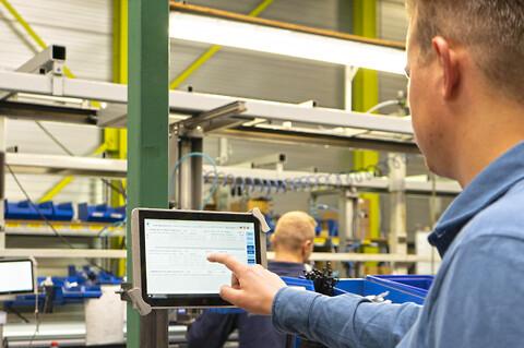 Digitalisering og effektivisering af produktionsflow  - Digitalisering og effektivisering af produktionsflow