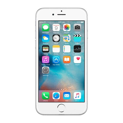 Apple iphone 6S 16GB (sølv) - grade b - mobiltelefon