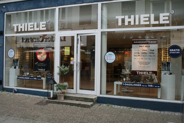 Politiet har ingen spor efter brillekup i Thiele RetailNews