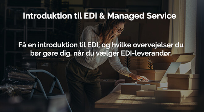 Fjern kompleksiteten ved elektronisk samhandel (EDI)