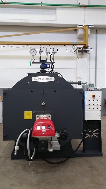 Dampgenerator - nem og effektiv energi - Chr. Møller A/S