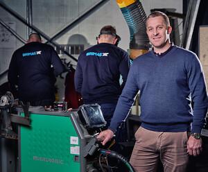 Peter Iversen, produktionschef og medstifter af Brimas