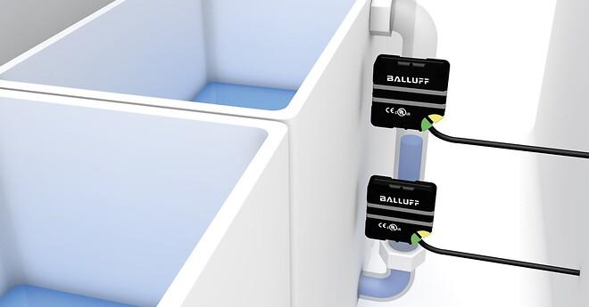 Kapacitiva nivåsensorer, IO-Link, automation, Balluff