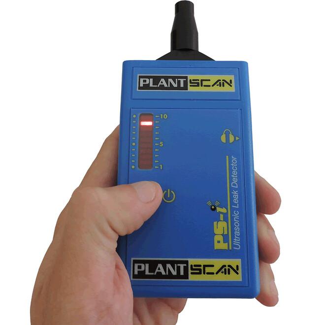 ultraljudsinstrument för läckagesökning av tryckluftsläckage och vakuum läckor. Kylmedia