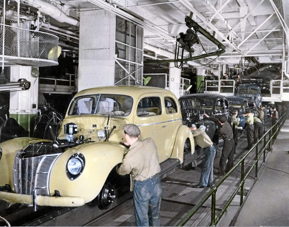 I en lang periode fra 1919-1966 blev Ford-biler samlet i København 2621583617cbd