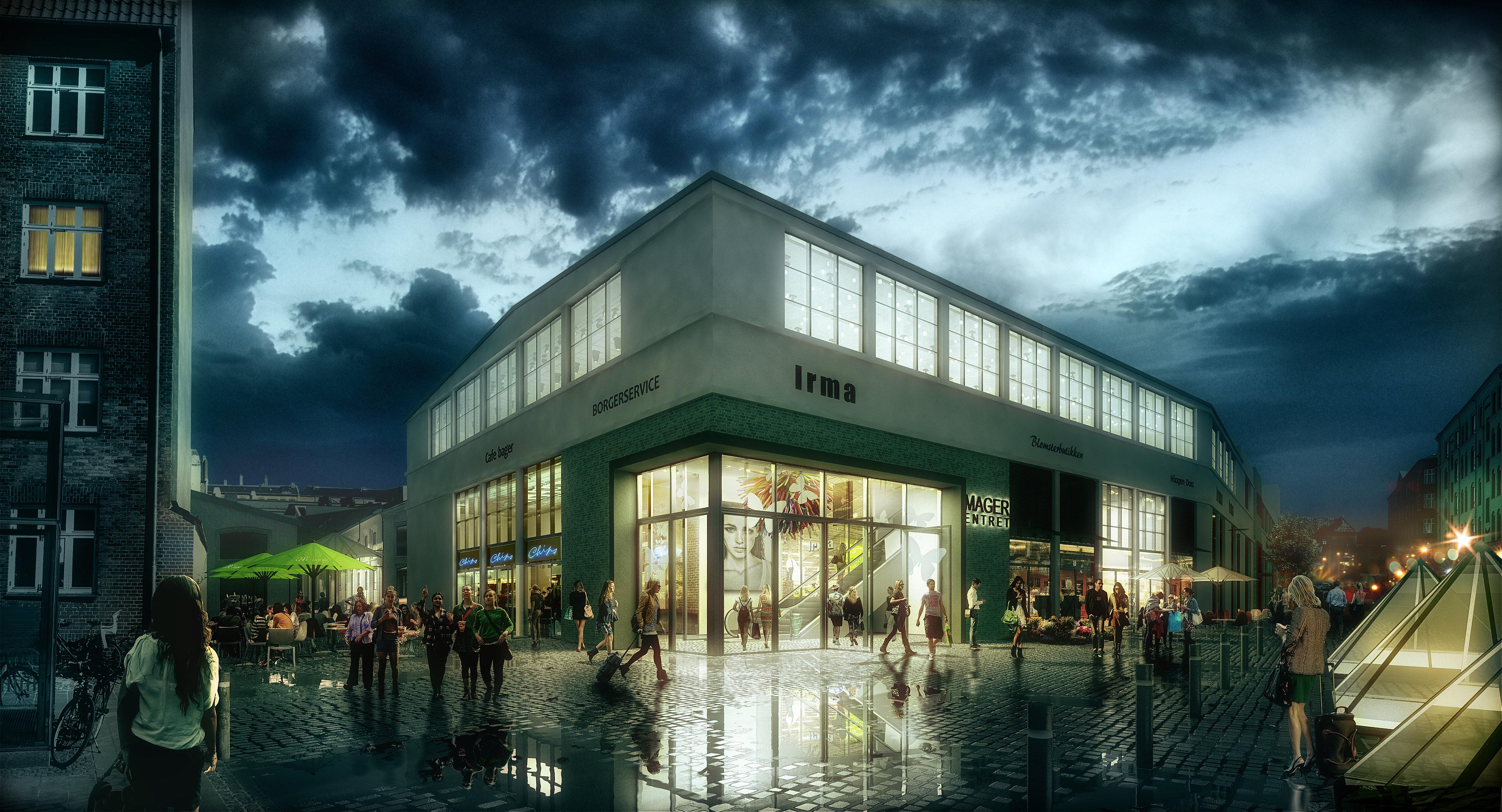 Amager Centret Moderniseres I Storstilet Ombygning Retailnews